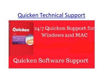 Quicken Technical Support