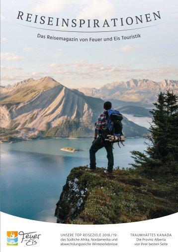 Feuer und Eis Reiseinspirationen 2018-19