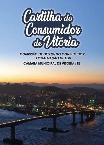 Cartilha Municipal do Consumidor - Sandro Parrini - Câmara Municipal de Vitória