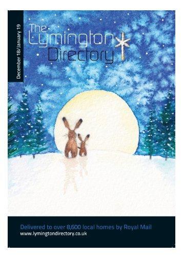 Lymington Directory  Dec 18 Jan 19