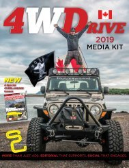 2019 4WDrive Canada Media Kit