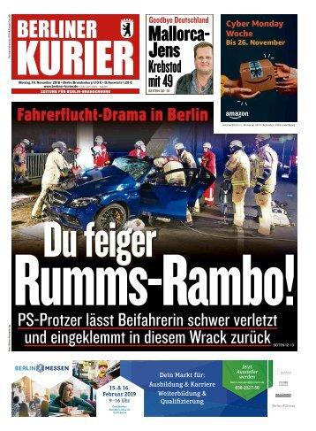 Berliner Kurier 19.11.2018