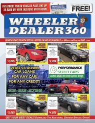 Wheeler Dealer 360 Issue 47, 2018