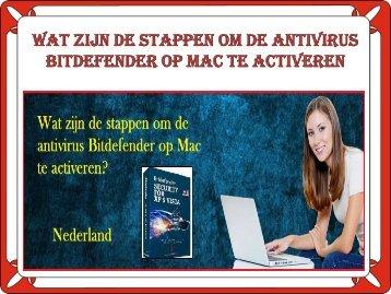 Wat zijn de stappen om de antivirus Bitdefender op Mac te activeren