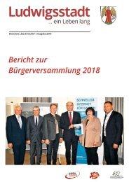 Bürgerversammlung Broschüre 2018