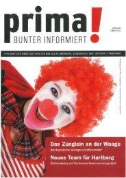 prima! Magazin - Ausgabe Februar 2012