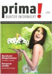 prima! Magazin - Ausgabe März 2012
