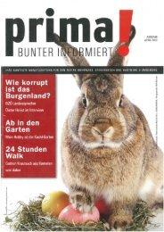 prima! Magazin - Ausgabe April 2012
