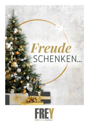 FREY Mode - Weihnachts-Prospekt Cham