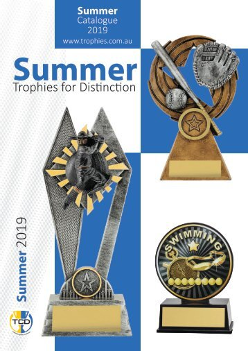 Summer Trophies for Distinction 2019