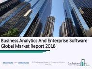 Business Analytics And Enterprise Software Global Market Report
