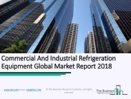 Commercial And Industrial Refrigeration Equipment Global Market Report