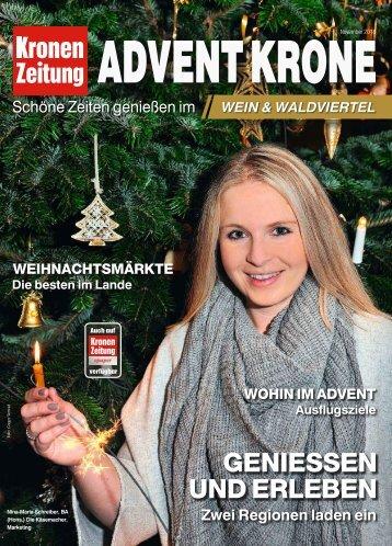 Advent Krone Wein & Waldviertel 2018-11-15