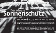 Der ideale Sonnenschutz - Clauss Markisen Projekt GmbH
