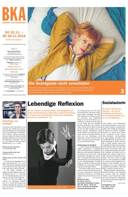 Berner Kulturagenda N°46
