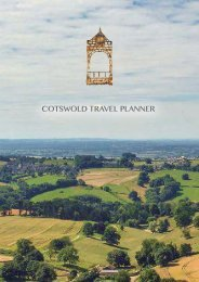 Cotswold Travel Planner Brochure
