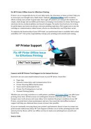 Fix HP Printer Offline Issue for Effortless Printing