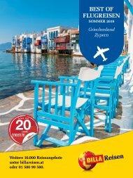 ITS Billa Reisen Sommerkatalog 2019 Griechenland & Zypern