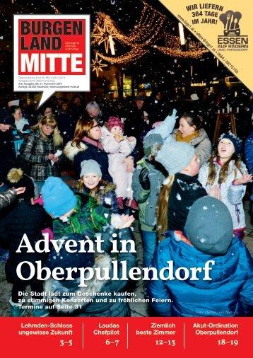 Burgenland Mitte November 2018 - Nr. 316