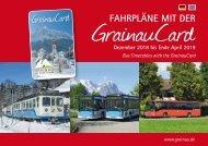 Fahrpläne mit der GrainauCard bis Ende April 2019