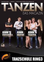 Tanzschule Ring 3 - Tanzen - Das Magazin Augabe 5