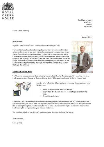 Design Brief Letter RJ