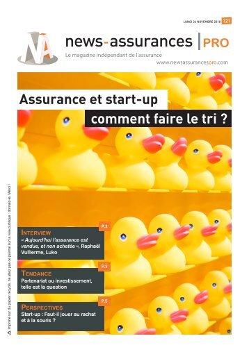Magazine News Assurances Pro : édition spéciale start-up