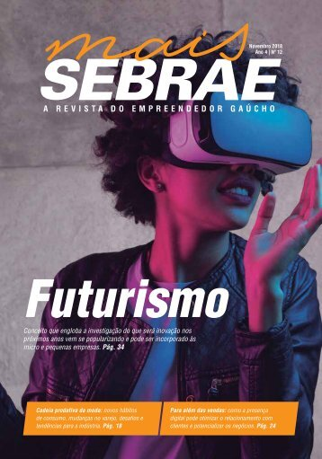Revista Mais Sebrae nov-Futurismo