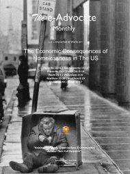 The Economic Consequences of Homelessness in The US