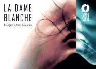 La Dame Blanche   Programmheft   Junge Oper Rhein-Main   2017