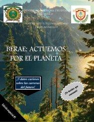 Revista BERAE: Actuemos por el planeta