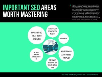 IMPORTANT SEO AREAS WORTH MASTERING