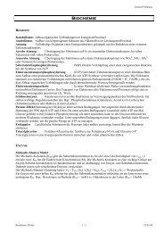 Biochemie - Fellmann, Christof