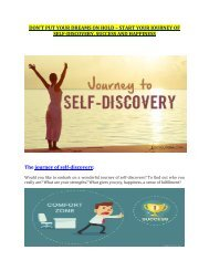 Start Your Journey Of Self-discovery, Success And Happiness with tushar Vakil