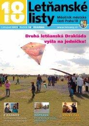 PŘEHLED AKCÍ na listopad - prosinec 2012 - Letňanské listy
