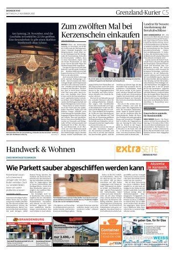 Handwerk & Wohnen  -21.11.2018-