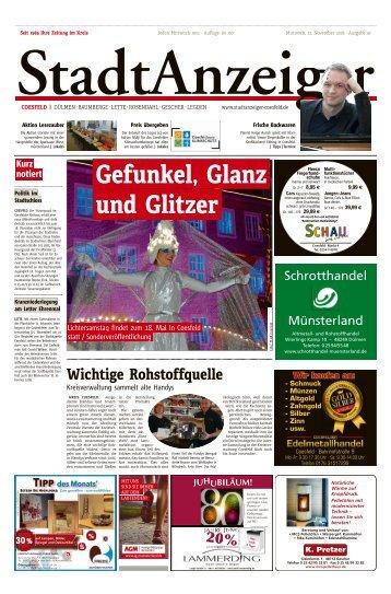 Stadtanzeiger Coesfeld kw 47