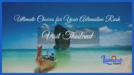 Thailand Tour Package from Kerala with Best Offers
