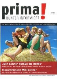 prima! Magazin - Ausgabe Juli 2012