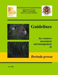 Guidelines for Borinda grossa - Ministry of Agriculture