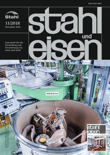 Leseprobe stahl und eisen 11/2018