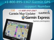 1-800-895-1367 Garmin GPS support Number-converted