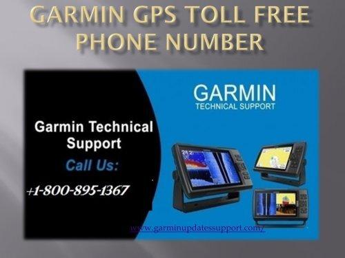 Garmin GPS Toll Free Phone Number-