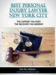 Best Personal Injury Lawyer New York City