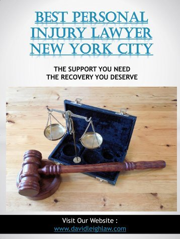 Best Personal Injury Lawyer New York City