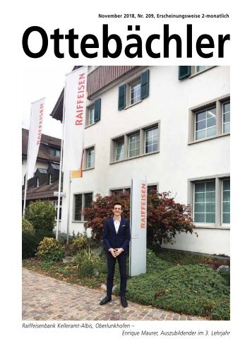 Ottebächler 209 November 2018