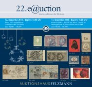 Auktionshaus Felzmann - Auktion-1022 - Philatelie