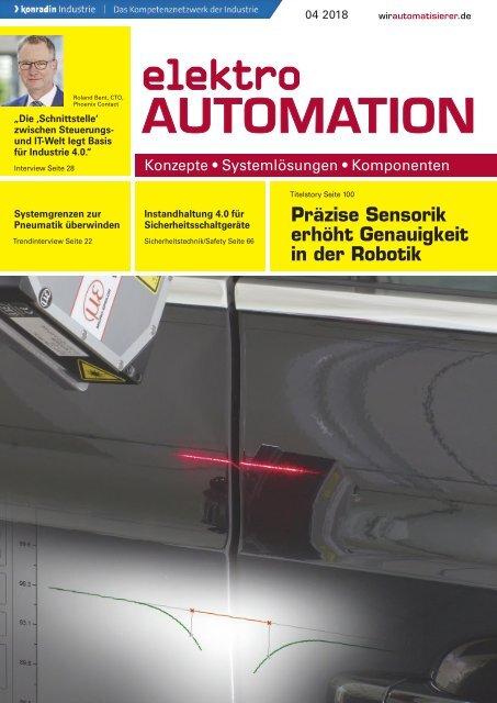elektro AUTOMATION 04.2018