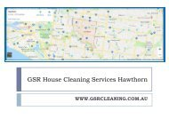 GSR House Cleaning Services Hawthorn