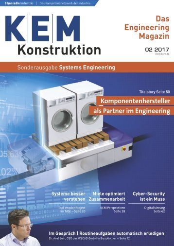 KEM Konstruktion Sonderausgabe Systems Engineering 02.2017